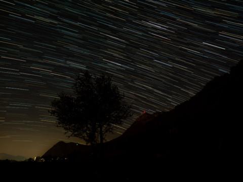 Warten auf eine Sternschnuppe